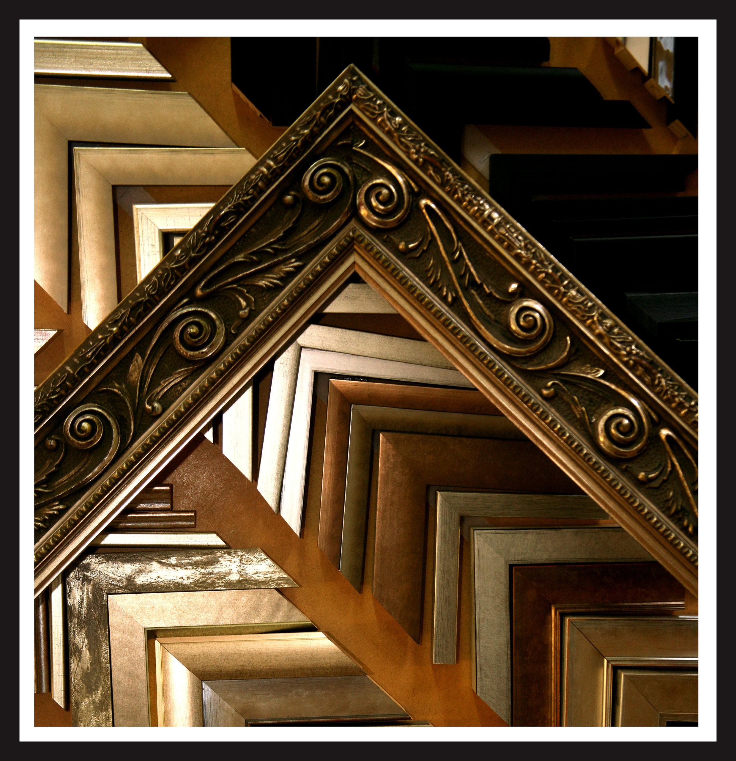 Huge range of mouldings and frames